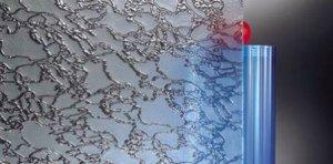 Szkło Delta piaskowana